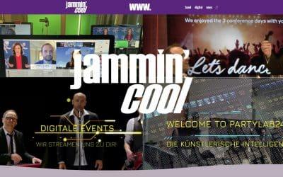 Jammin´Cool Webseite im Re-Launch